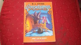 Goosebumps:Don't Go To Sleep!
