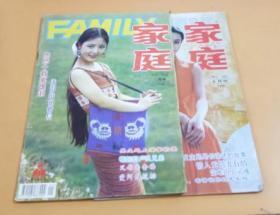 家庭(期刊)1995年1期、8期   2本合售