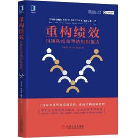 重构绩效 用团队绩效塑造组织能力