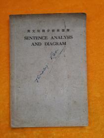 英文句语分析与图解(民国22年版、少后封皮)
