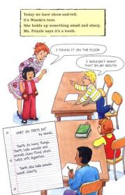 The Magic School Bus and the Missing Tooth  Scholastic读本系列第二级:神奇校车系列:丢失的牙齿