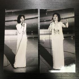 """邓丽君1982年""""金钟奖""""颁奖晚会照片"""