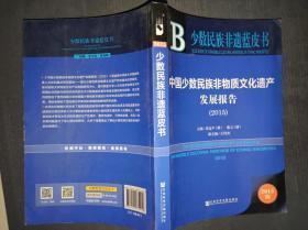 少数民族非遗蓝皮书:中国少数民族非物质文化遗产发展报告(2015)