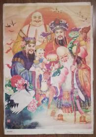 杨柳青年画:祥光普照