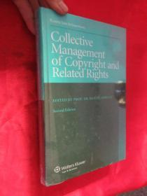 Collective Management of Copyright and Related Rights (Second Edition)         (小16开,硬精装)  【详见图】,全新未开封