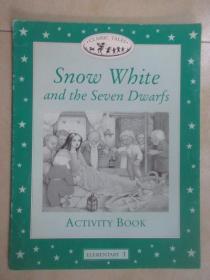 英文书   Snow   White   and  the   Seven   Dwarfs  (共16页)