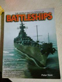 THE WORLD ENCYCLOPEDIA OF BATTLESHIPS  世界战舰百科全书,书名等信息以照片为准