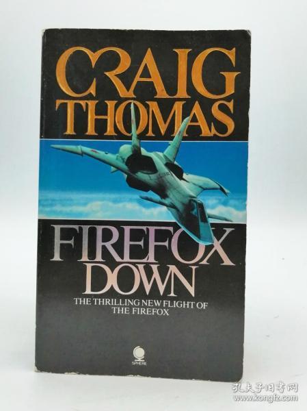 Firefox Down 英文原版-《火狐坠落》