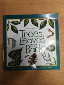 英文儿童绘本:Trees, Leaves & Bark