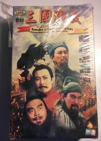 三国演义  连续剧 vcd  电视剧 84碟 台版 唐国强 孙彦军 鲍国安