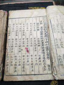 刘氏家藏二十四山造葬全书