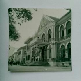 老照片(原版〉,湖南长沙第一师范。~~毛主席的母校~见报样片