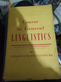 英文原版 Course in General LINGUISTICS