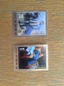 1993-17 毛主席诞辰一百周年邮票一套2枚