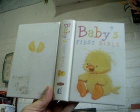 英文原版 Babys First Bible - NKJV (精装版小开本)
