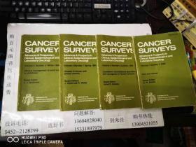 英文原版图书  癌症调查  1984第三卷  1、3、4期  1988第七卷1期  4本合售  包快递费