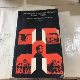 Readings in American HistoryVolume I:To 1877