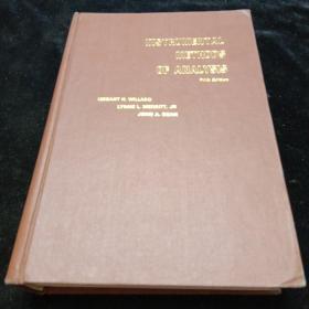 英文原版。仪器分析法(第五版)