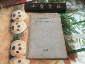 KEY TO DUFFS PHYSICS