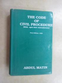 英文书; THE  CODE  OF  CIVIL  PROCEDURE   共650页   精装   详见图片