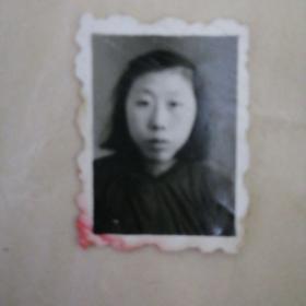 老照片…五十年代单人照