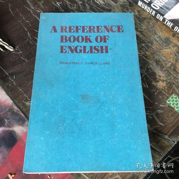 A REFERENCE BOOK OF ENGLISH 英语手册