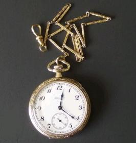 约1922年左右,美国汉密尔顿原装怀表