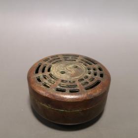 八卦铜香炉