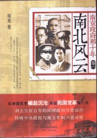 南京政府那十年 卷一 南北风云