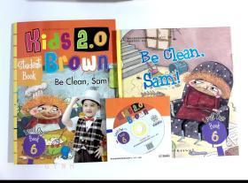 be clean,Sam! Kids 2.0 Brown 布朗儿童英语 英文绘本 2本合售