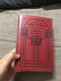 The Concise Oxford Dictionary of Current English:The 1911 First Edition【福勒兄弟COD经典首版重印,100周年纪念版,David Crystal作导论】精装,英国无酸纸印制