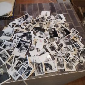 老照片一组 有1950年的 130张左右
