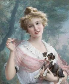 法国画家埃米尔弗农精彩学院派油画的24张照片5吋的hw