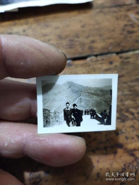 1956年八达岭长城照片