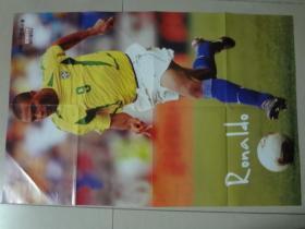 足球俱乐部海报(2011年3A)罗纳尔多  九品  2开