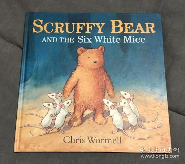 精装大开本Scruffy Bear and the Six White Mice