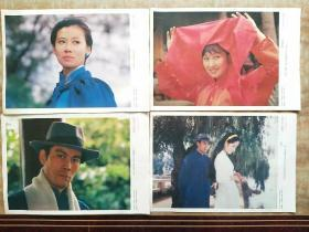 《蓝衫女匪》电影海报剧情剧照1~8张全(彩色宽银幕故事片)