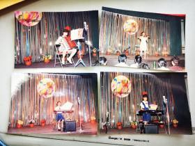 1992前后,六一少儿器乐表演比赛老照片14种