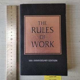 The rules of work 10th anniversary edition 职场黄金法则 十周年纪念版 英文原版