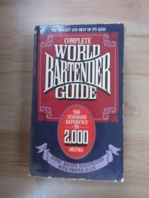 英文书; COMPLETE  WORLD  BARTENDER  GUIDE   共462页  详见图片