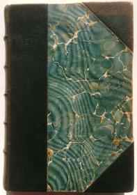 《柳林风声》1938年私人定制半皮装本英国著名童话作家肯尼斯·格雷厄姆童话名著