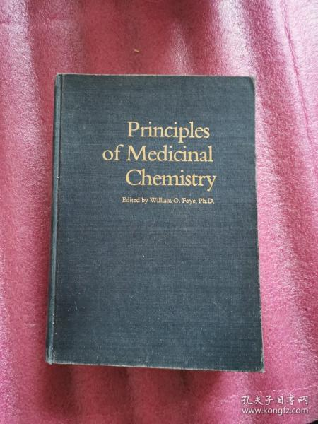 Principles of Medicinal Chemistry(药物化学原理)