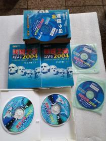 美国之音 标准英语 2004学习手册(上下)与5盘DVD