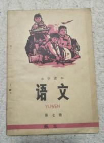 小学课本 语文 第七册