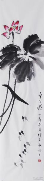 【自写自销】当代艺术家协会副主席王丞手绘 争上游