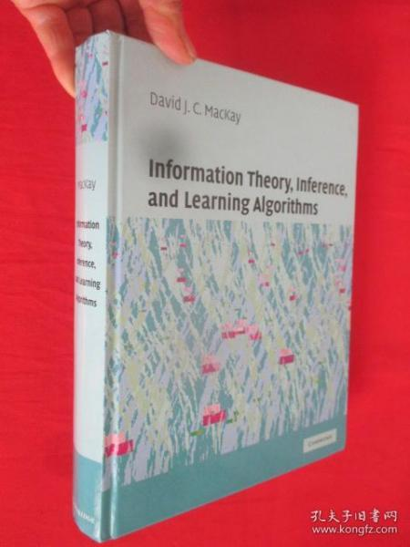 Information Theory, Inference and Learning Algorithms      ( 16开,硬精装 ) 【详见图】