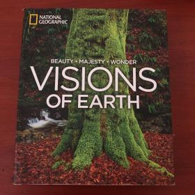 英文原版 Visions of Earth By NATIONAL GEOGRAPHIC 地球的景象 美国国家地理摄影精选 精装