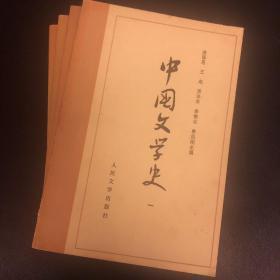 【游国恩】中国文学史(全套四本)(全网独家)(考研必备)