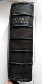 现货,《 圣经 》大量钢板画插图, 1868年出版,超重