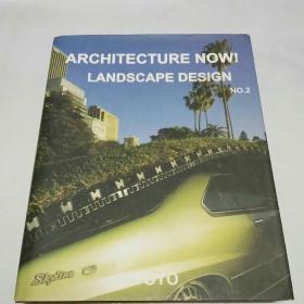 ARCHITECTURE NOW!LANDSCAPE DESIGN(建筑学现在!景观设计)NO.2